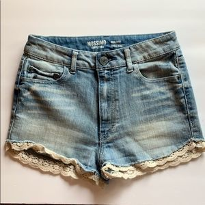 Mossimo High Rose Jean Shorts Size 7